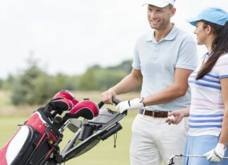 Par spiller golf